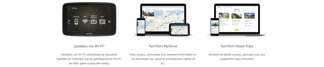TomTom Go Basic functies