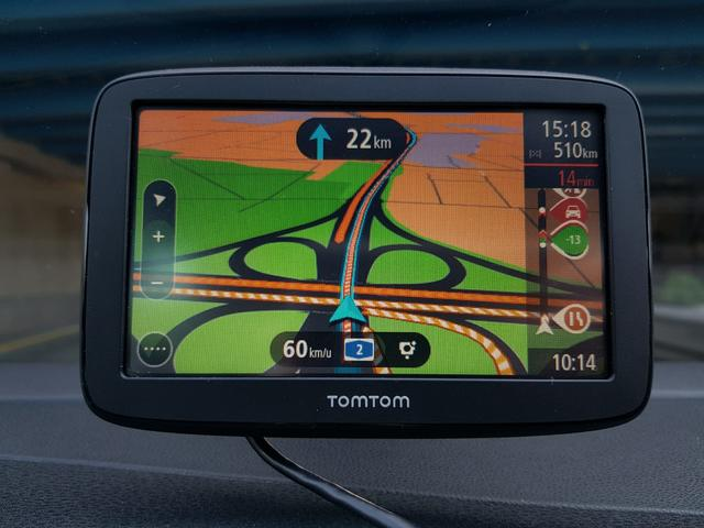 TomTom Go Basic dashboard