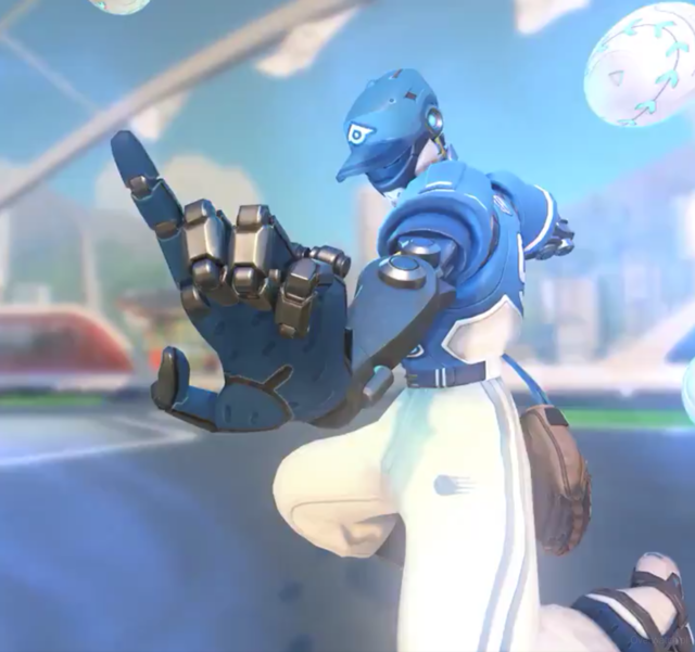 Overwatch Summer Games 2018 Fastball Zenyatta