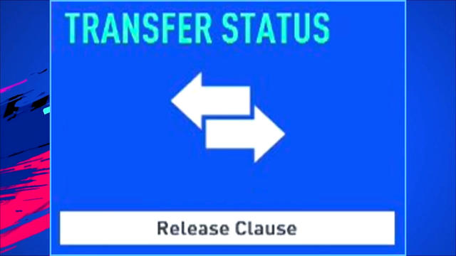 Release Clause Fifa 19 Career Mode
