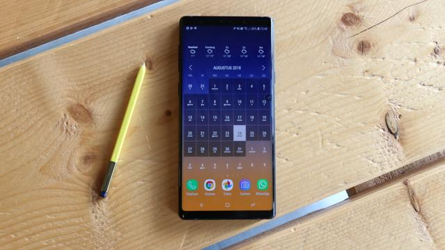 Samsung Galaxy Note 9, smartphone, android