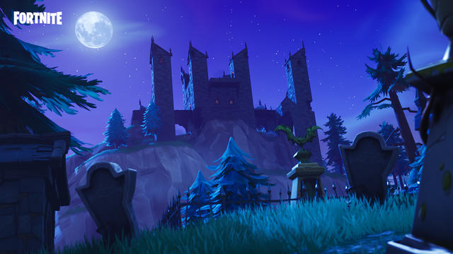 Haunted Castle Fortnite Season 6