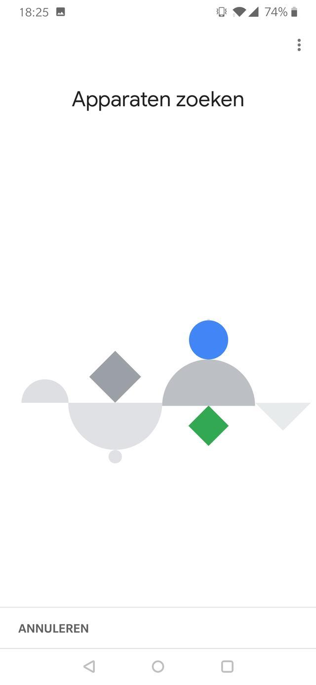 Google Chromecast screenshot