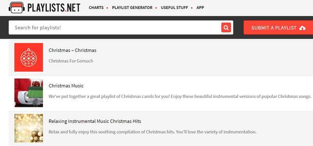 afspeellijsten op Spotify