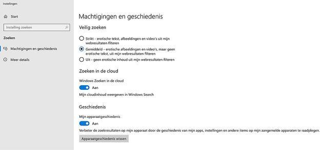 Het zoekgedrag van Windows 10 is (een beetje) aanpasbaar