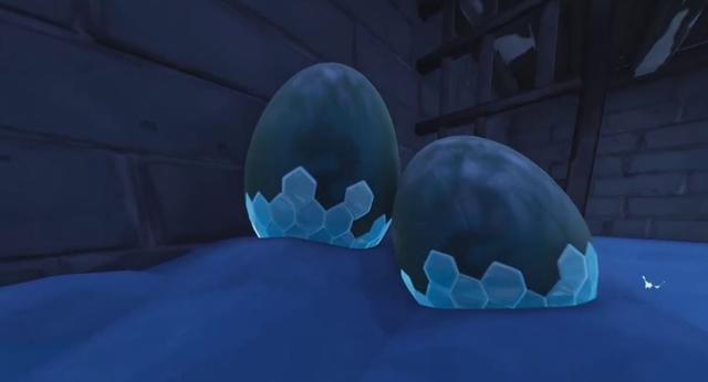 Dragon eggs Fortnite Season 7