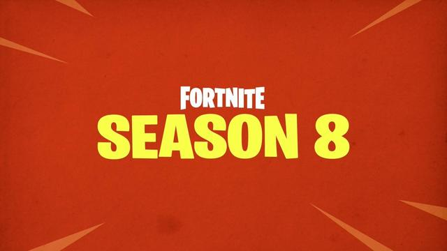 Season 8 banner Fortnite