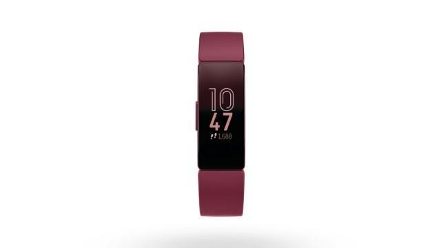 De Fitbit Inspire is bedoeld voor mensen die nog geen ervaring hebben met trackers