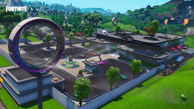 Mega Mall Fortnite Season 9