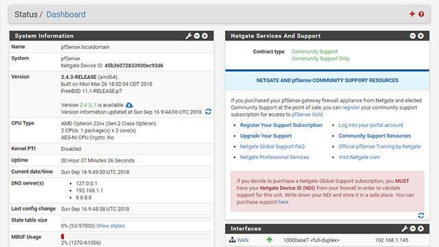 pfSense installeren op QNAP-nas