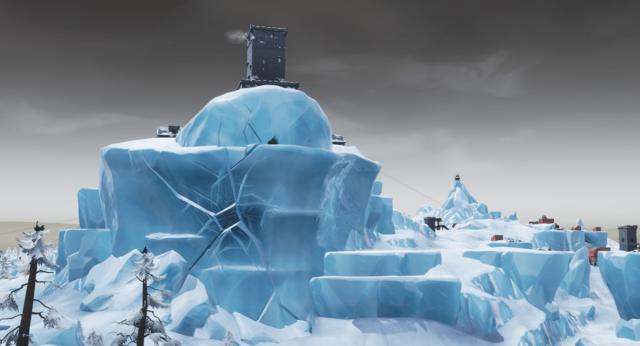 Fortnite Polar Peak Unvaulting Season 8