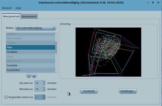 XScreensaver biedt veel meer moois als screensaver voor Linux Mint