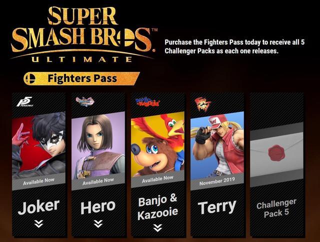 Smash Bros fighterpass