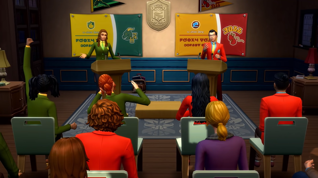 sims 4 discover university