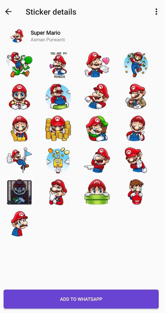 Stickerset Whatsapp