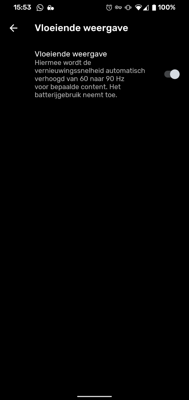 Google Pixel 4 screenshot