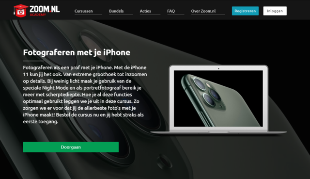 iphone cursus