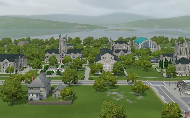 Sims 3 university