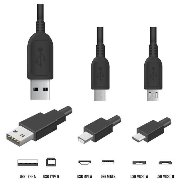 USB-aansluitingen