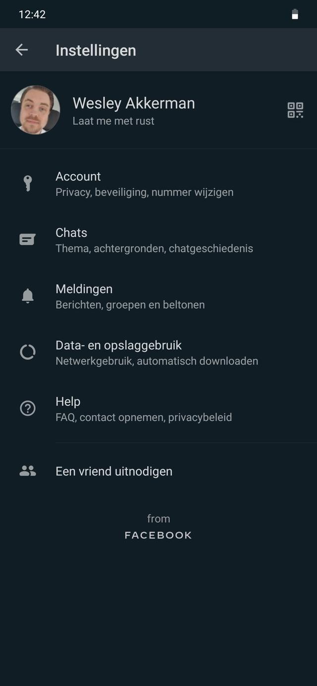 WhatsApp QR-codes