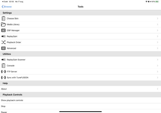 Foobar2000 heeft meer dan genoeg instellingsmogelijkheden aan  boord.