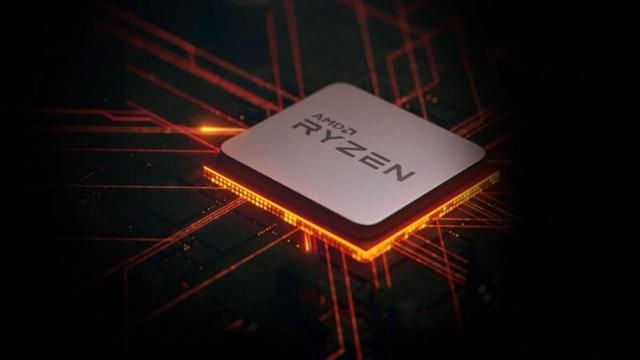 Render van een AMD Ryzen-processor