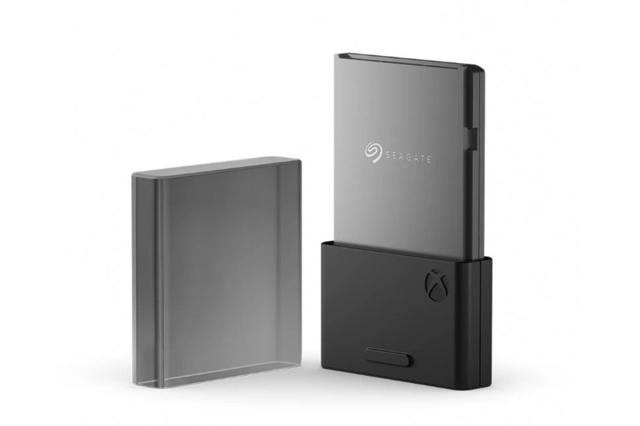 Seagate SSD voor Xbox Series X