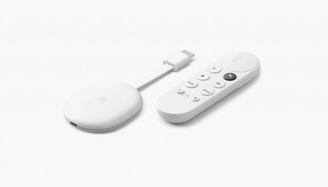 Google Chromecast met Google TV