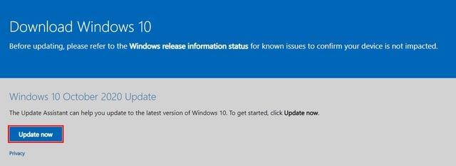 Windows 10 Oktober-update