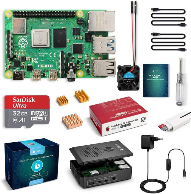 Labists Raspberry Pi 4 Model B starterkit
