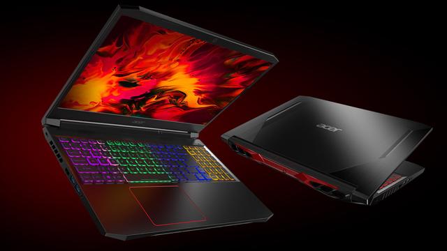 Render van de nieuwe Nitro 5-laptop (2021) van Acer.
