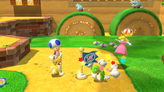Super Mario 3D World + Bowser's Fury is a re-release with class