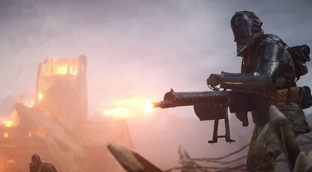 Battlefield 1 machine gun