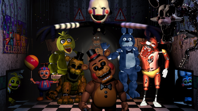 Five Night at Freddys
