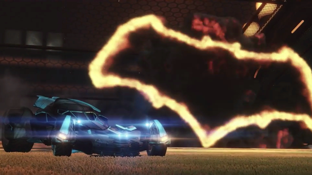 Batmobile Rocket League