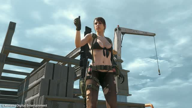 Quiet Metal Gear Online
