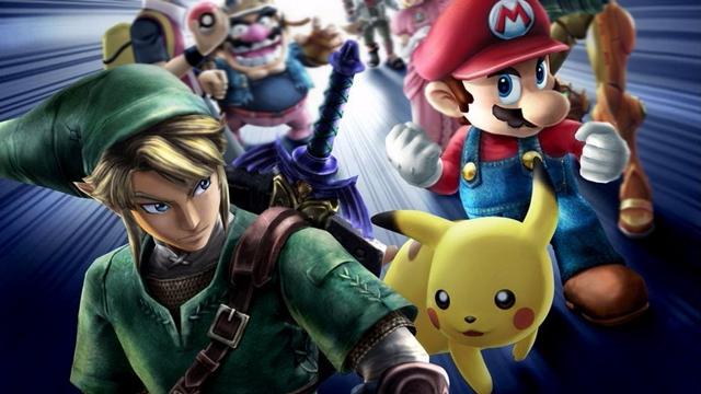 Zelda Mario Pokemon