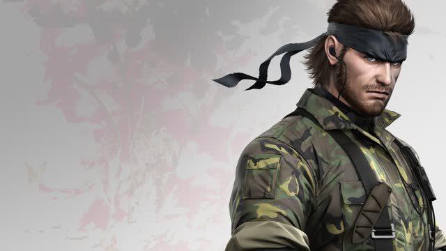 Snake Metal Gear Solid