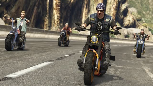 GTA 5 Bikers