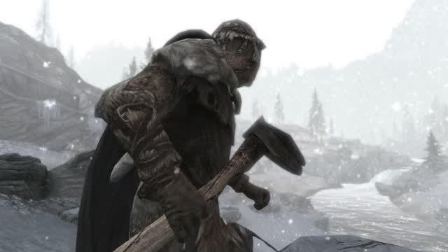 Skyrim Frostfall