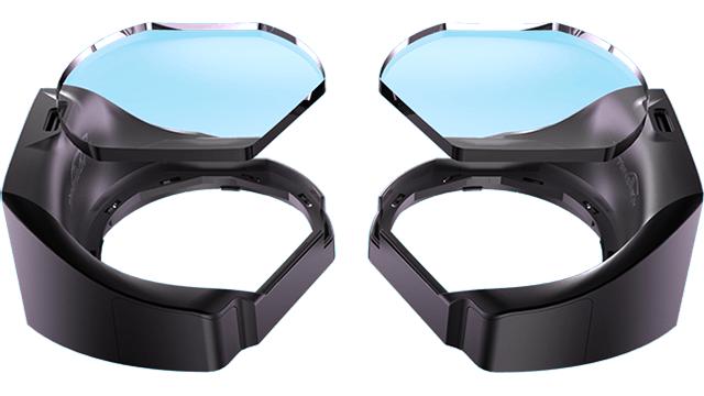De aGlass lensen voor de HTC Vive voegen eye tracking toe aan de VR-bril