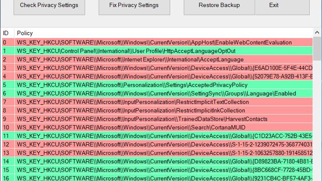 windows 10 security-tools