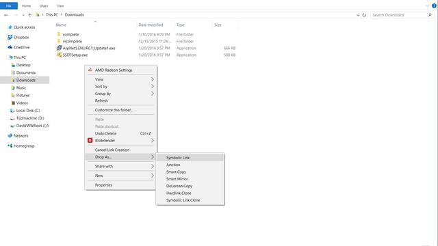 Werken Met Symbolic Links In Windows 10 Windows 10 Pcmweb