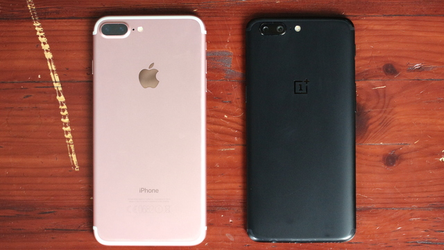 OnePlus 5: iPhone-kloon