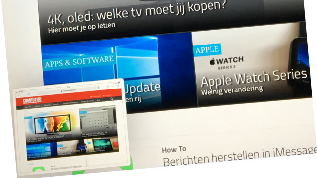 Screenshots zijn in iOS 11 nu ook direct te bewerken