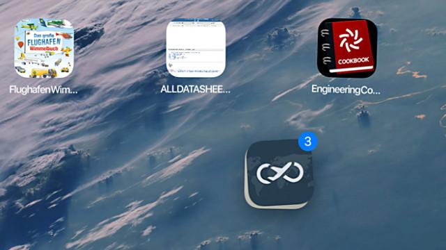 Verplaats meerdere apps tegelijk in iOS 11