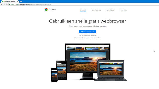 Chrome is een prima browser, maar loop wel even de privacy-instellingen na