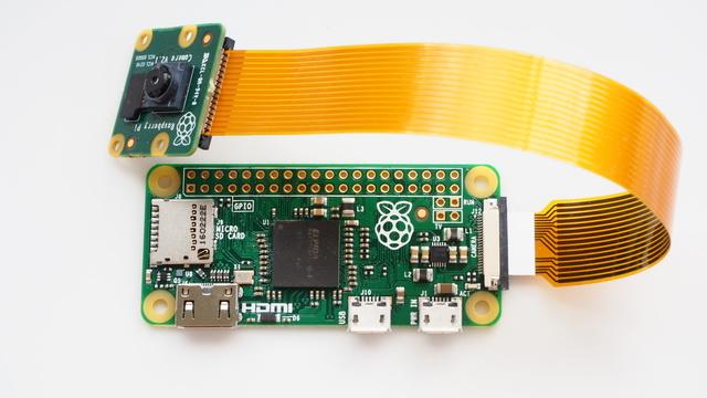 raspberry pi camera module installeren