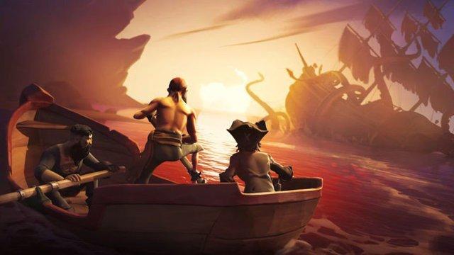 Sea of Thieves kraken