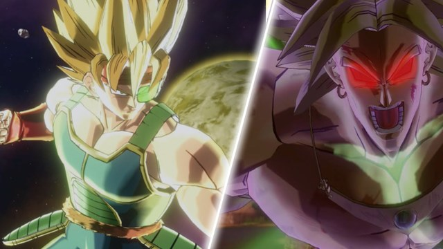 Dragon Ball FighterZ Broly vs Bardock